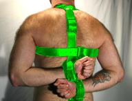 Main posture restraint portion